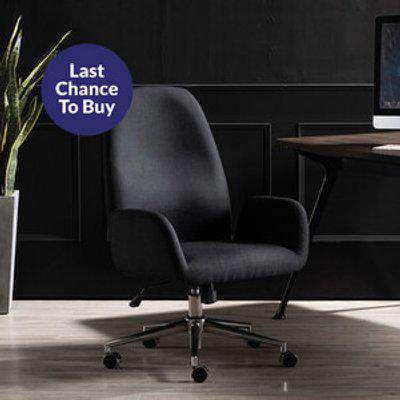 Hudson Linen Office Chair