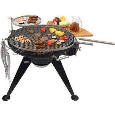 Huge 75cm Cranford Charcoal BBQ Grill Firepit - B