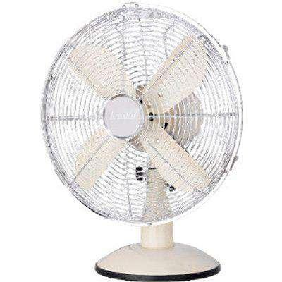 """12"""" Icycool Cream Metal Desk Fan"""