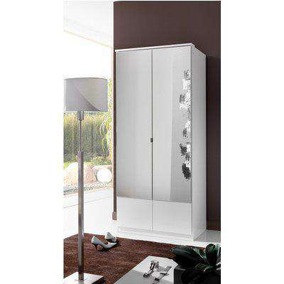 Imago White Wardrobe - White / 4 Door Wardrobe