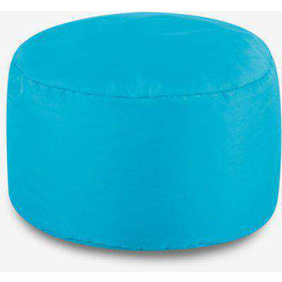 Cube Indoor and Outdoor Bean Bag Footstool - Charcoal Grey