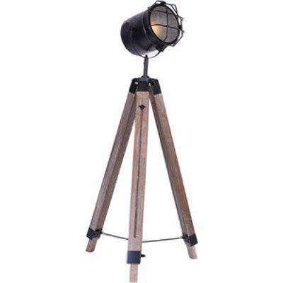 Industrial Spot Floor Lamp
