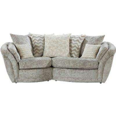 Izzy Snuggle Right Hand Facing Sofa  - Nickel