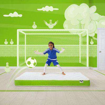 Jay-Be Simply Kids Anti-Allergy Foam Free Mattress - Green / Single