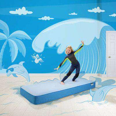 Jay-Be Simply Kids Waterproof Foam Free Mattress - Blue / Single