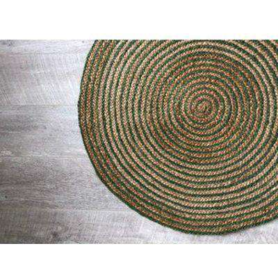 Jute Circle Round Rug 91cm