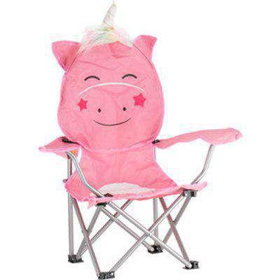 Kids Unicorn Shaped Camping Chair