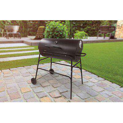 Kingfisher Drum Charcoal BBQ with Cover