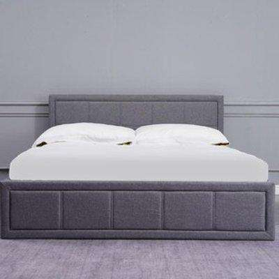 Kosy Koala Grey 3FT Single Upholstered Storage Ottoman Bed