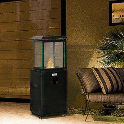 8KW Outdoor Patio Gas Heater Freestanding Garden Heater - Black