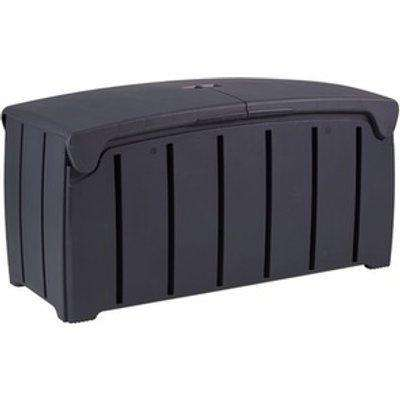 322L Garden Storage Box - Black