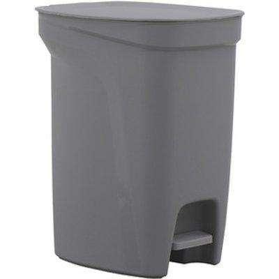 10L Plastic Pedal Bin - Grey