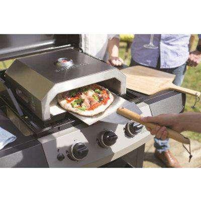 La Hacienda Firebox Pizza Oven - Silver