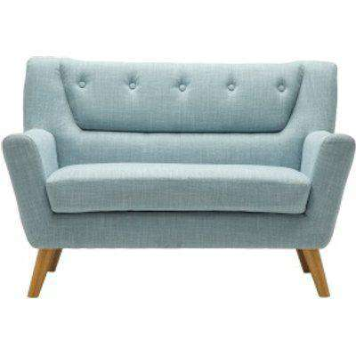 Lambeth Medium Two Seater Sofa - Duck Egg Blue