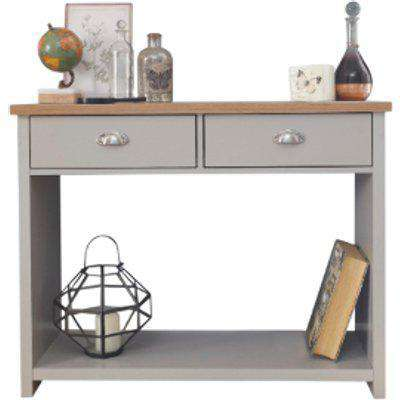 Lancaster Console Hall Table - Grey