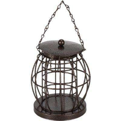 Lantern Shaped Bird Feeder - Grey
