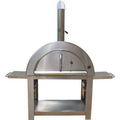 Large Stainless Steel Outdoor Pizza Oven
