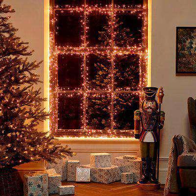 LED Cluster Christmas Lights - Copper / 2000
