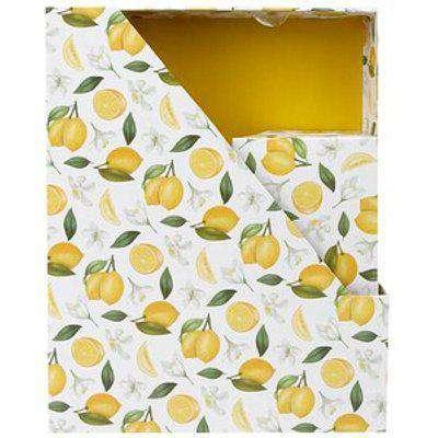 Lemon Desk Organiser Set