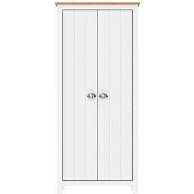 Lexington Two Door Wardrobe - White