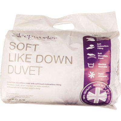 Soft Like Down 4.5 Tog Duvet - Single
