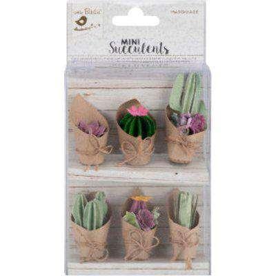 Little Birdie Cactus Combo Mini Paper Succulents