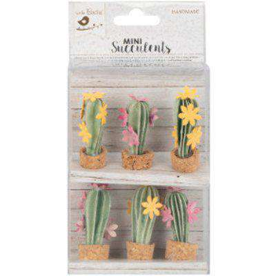 Little Birdie Desert Flora Mini Paper Succulents