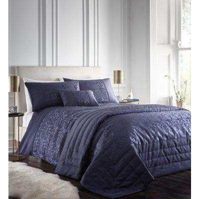Lucien Duvet And Pillowcase Set - Blue / Super King / 6cm / 1.7kg