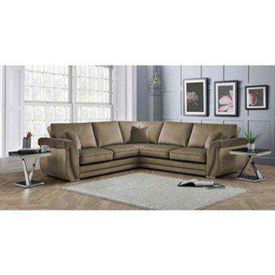 Luxe Full Back Large Corner Sofa - Parchment