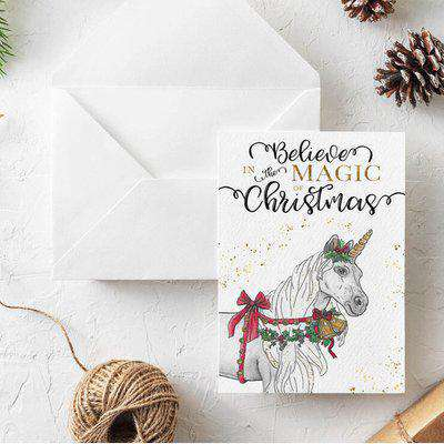 Luxury Christmas card - The Magic of Christmas