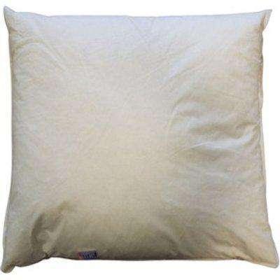 Luxury Polyester Cushion Pad  - White