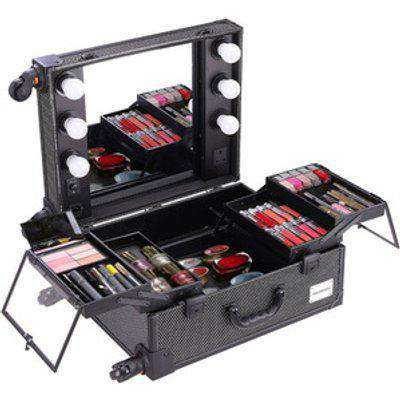 Makeup Organizer Box  - Black