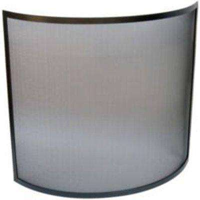 Manor Reproductions Curved Mesh Fire Guard