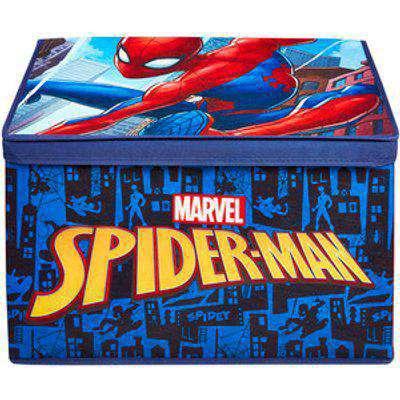 Marvel Spiderman Jumbo Fabric Toy Box - white