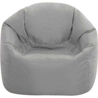 Medium Hi Rest Indoor and Outdoor Kids Bean Bag Chair - Grey