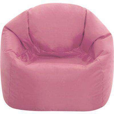 Medium Hi Rest Indoor and Outdoor Kids Bean Bag Chair - Rose Dust Pink