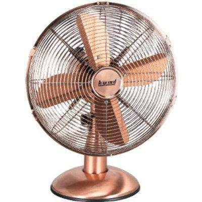 """12"""" Metal Desk Fan - Copper"""