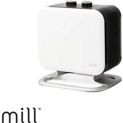 Mill Heat 1800w PTC Fan Heater - White