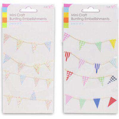 Mini Craft Bunting Embellishments
