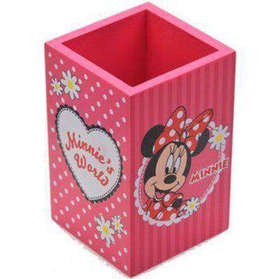 Minnie Mouse Themed Pencil Pen Pot Desk Organiser