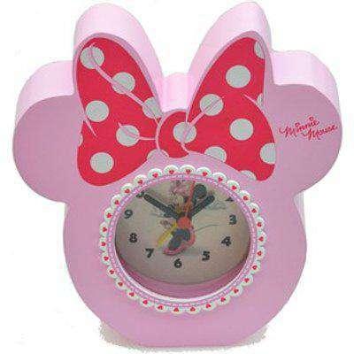 Minnie Mouse Themed Quartz Alarm Clock