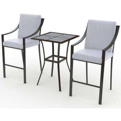 Monte Carlo Bar Set With Tile Top Table