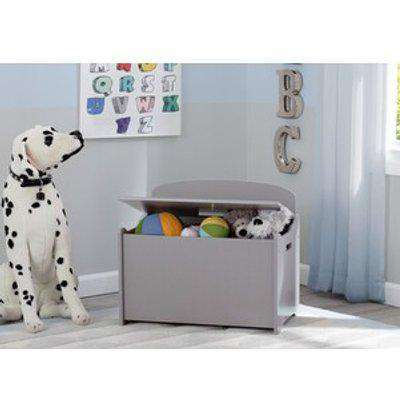 MySize Deluxe Toy Box - White