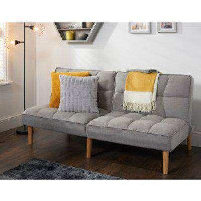 Neve Linen Sofa Bed - Grey