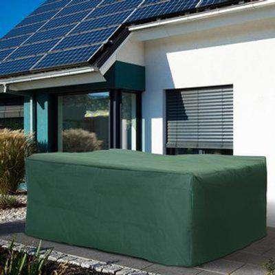 New Protective Furniture Cover for Garden Wicker Rattan from UV Rain Birds - Green / 245cm