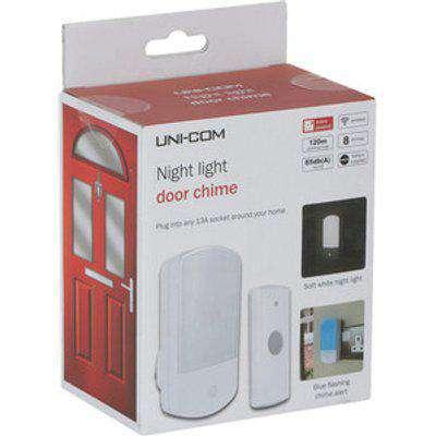 Night Light Plug In Door Chime