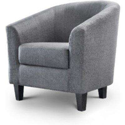 Oscar Slate Grey Tub Chair - Slate Grey
