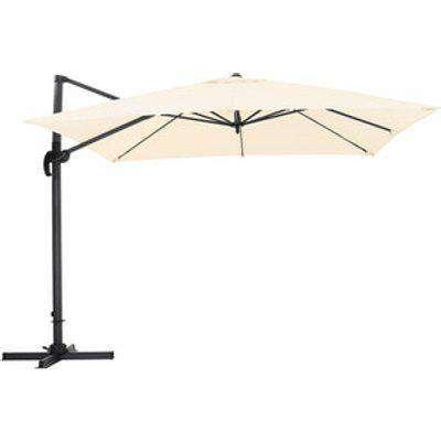 Outdoor Cantilever Parasol - Beige