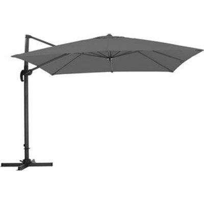 Outdoor Cantilever Parasol - Dark Grey