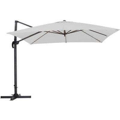 Outdoor Cantilever Parasol - Light Grey